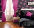 dormitor-roz-si-negru