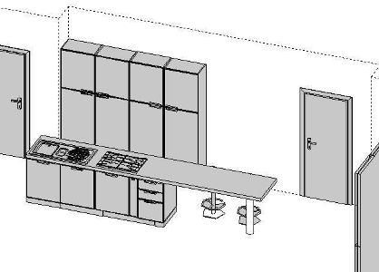 schita mobilier bucatarie