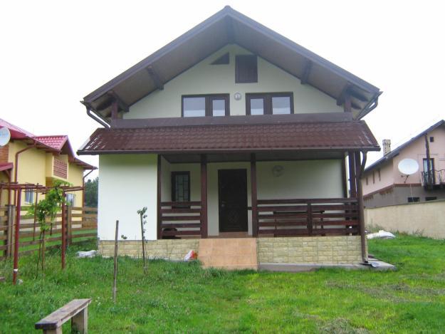 casa de vacanta din materiale de constructie