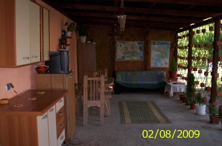 bucatarie de vara in gradina
