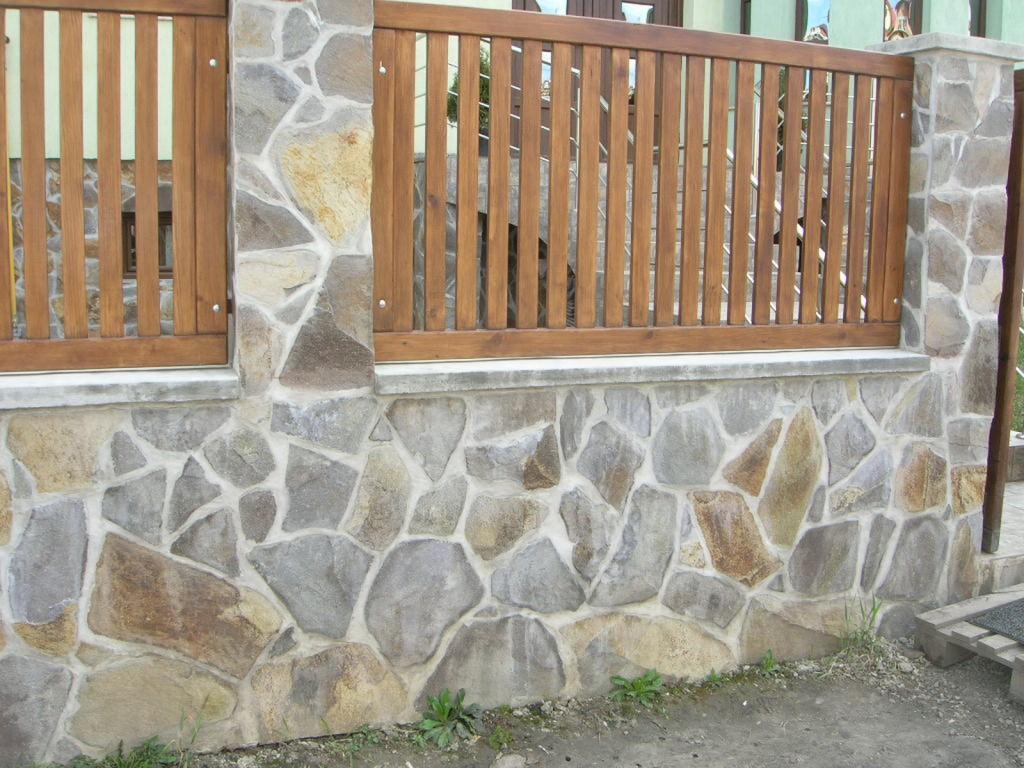 modele garduri piatra