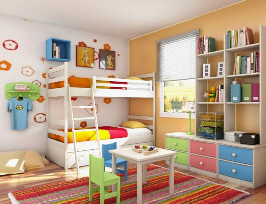 camera copii complet mobilata