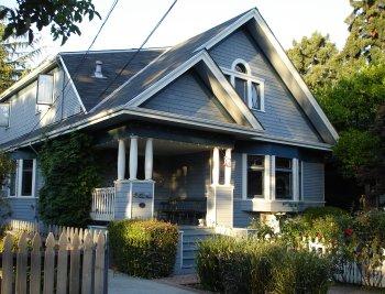 casa de lemn americana