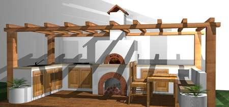 cum construiesc bucatarie de vara